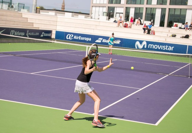 The Winner of the ITF Future Pro-Circuit Rafa Nadal Academy by Movistar Women's Tournament