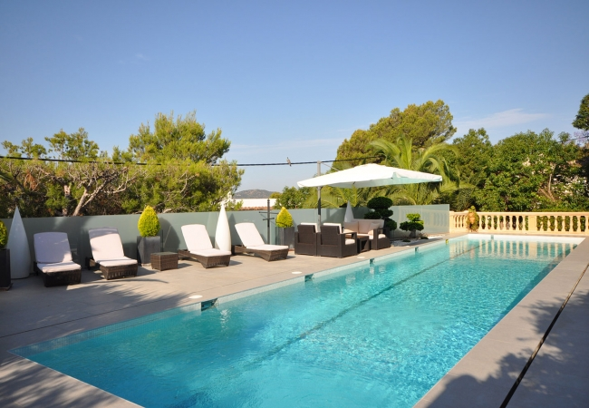 Luxury Villa Rose in Costa d'en Blanes
